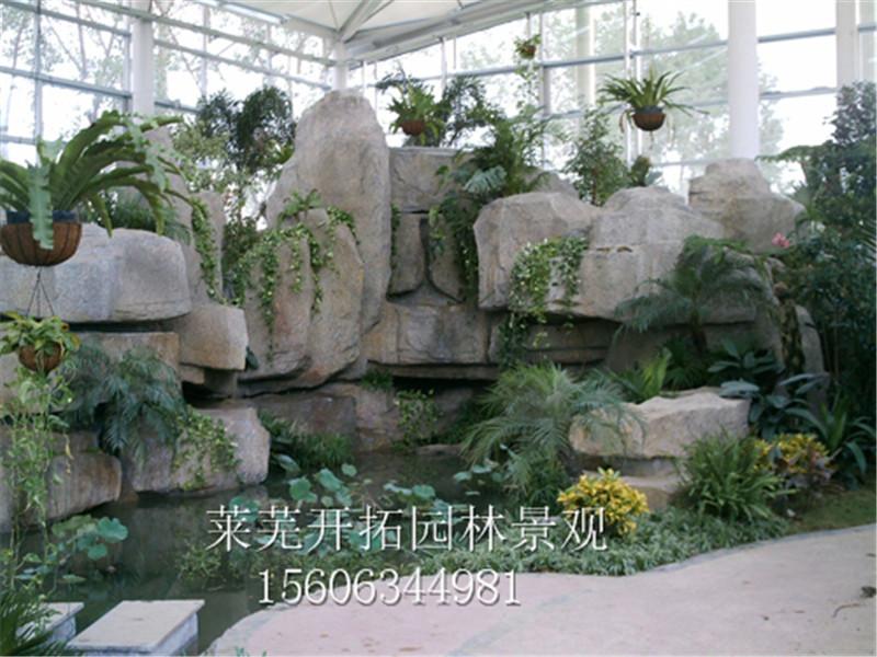 3:私家花園,室內景觀,觀賞魚池等工程項目.